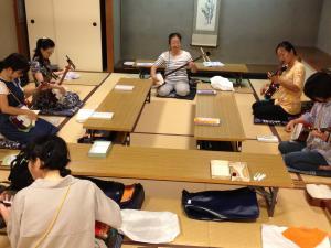和楽器実技講習会