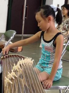 夏休み伝統文化箏教室