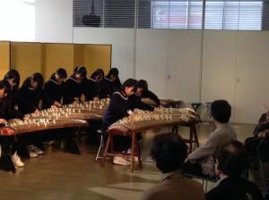 加古川東高邦楽部の演奏